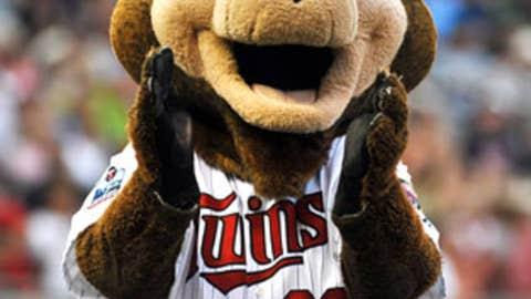 T.C. Bear, Minnesota Twins