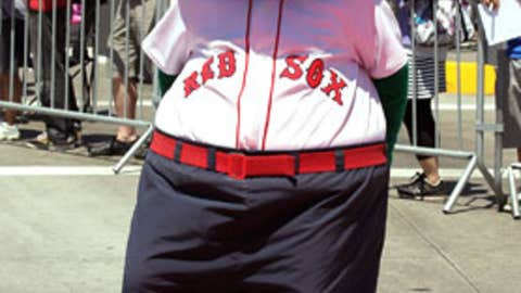 Wally the Green Monster, Boston Red Sox