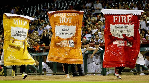 Hot Sauce Packets, Astros