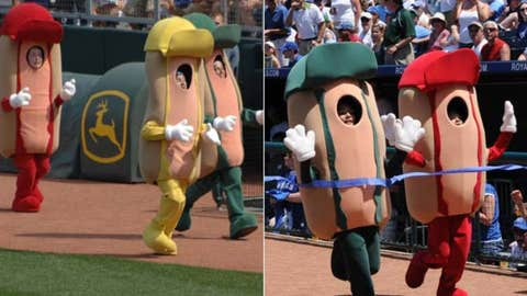 Hot Dog Derby, Royals