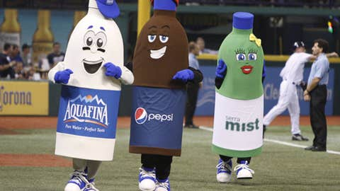 Pepsi Bottle Race, Rays