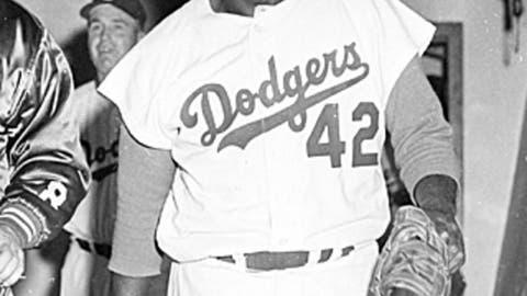 Jackie Robinson, Brooklyn Dodgers, NL
