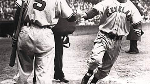 Larry Doby, Cleveland Indians, AL