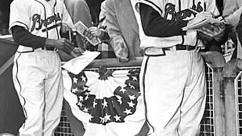 Sam Jethroe, Boston Braves, NL