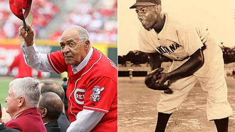 Chuck Harmon and Nino Escalera, Cincinnati Reds, NL