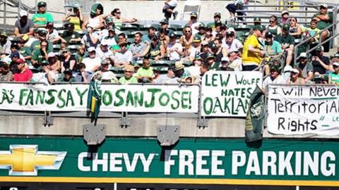 Oakland A's — Overstock.com Coliseum