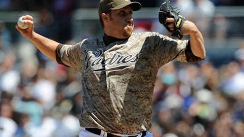 Aaron Harang, Padres
