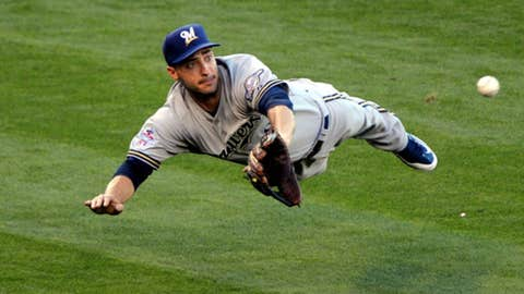 Left fielder, Ryan Braun, Milwaukee Brewers