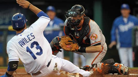 AL catcher: Matt Wieters, Baltimore Orioles