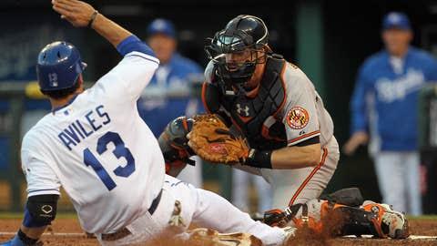 AL catcher: Matt Wieters, Baltimore Orioles