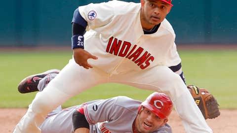 Indians Orlando Cabrera Reds Brandon Phillips