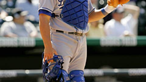 Russell Martin, C, 17th round, Dodgers, 2002