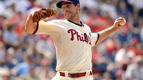 Left-handed starter — Cliff Lee, Phillies