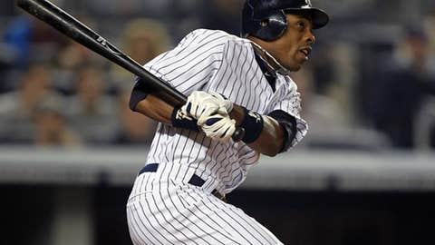 Center field — Curtis Granderson, Yankees