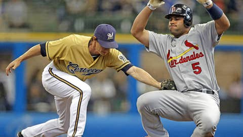 Brewers and Cardinals