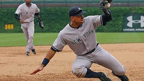 AL third base: Alex Rodriguez, Yankees