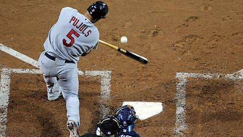 AL first base: Albert Pujols, Cards