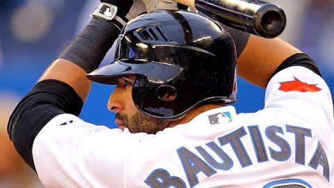 AL outfielder: Jose Bautista, Blue Jays