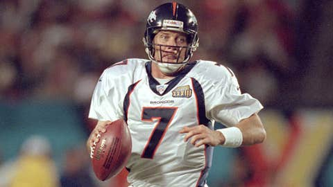 John Elway -- Denver Broncos, Super Bowl XXXIII