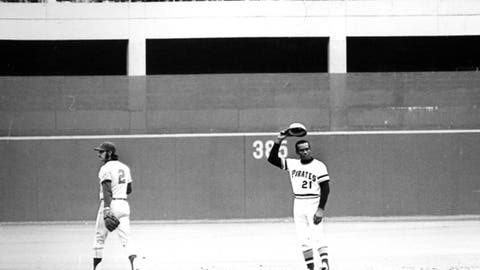 Roberto Clemente – 3,000 total hits