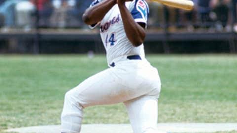 Hank Aaron – 3,771 total hits