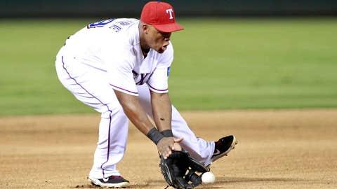 AL third baseman: Adrian Beltre, Texas Rangers