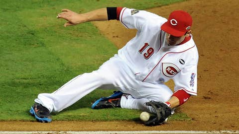 NL first baseman: Joey Votto, Cincinnati Reds