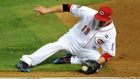 NL first baseman: Joey Votto, Cincinnati Reds