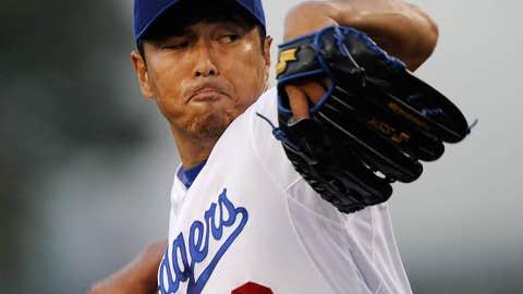 Hiroki Kuroda, RHP, Dodgers to Yankees