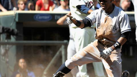 AL OF: Curtis Granderson, New York Yankees