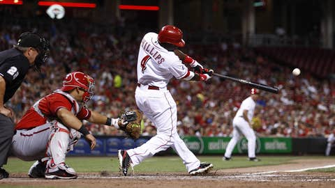 NL second baseman: Brandon Phillips, Cincinnati Reds