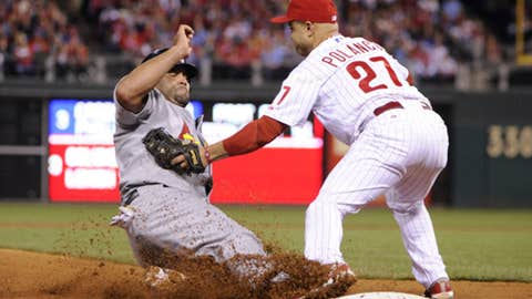 NL third baseman: Placido Polanco, Philadelphia Phillies