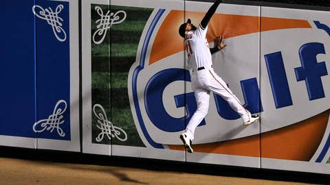 AL right fielder: Nick Markakis, Baltimore Orioles