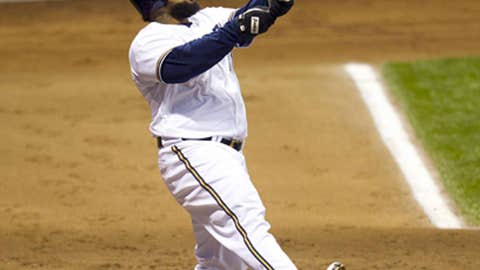 NL first baseman: Prince Fielder, Milwaukee Brewers