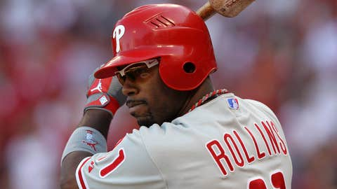 Jimmy Rollins, SS, stays with Phillies
