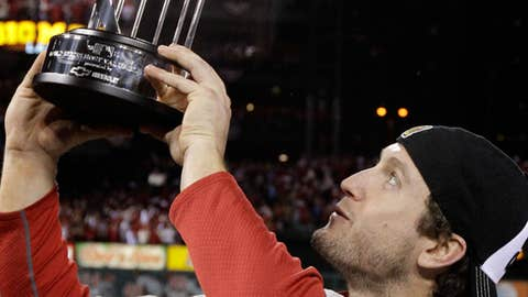 World Series MVP — David Freese