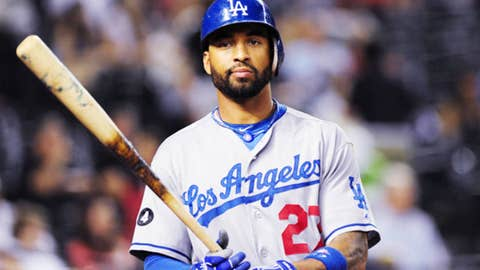Center fielder, Matt Kemp, Los Angeles Dodgers