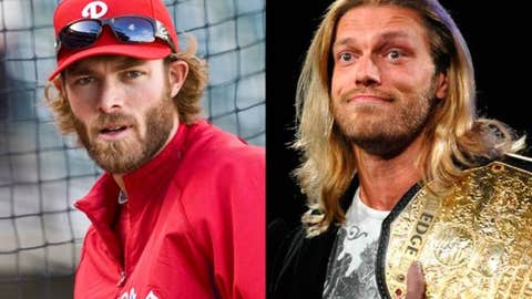 Jayson Werth and Edge