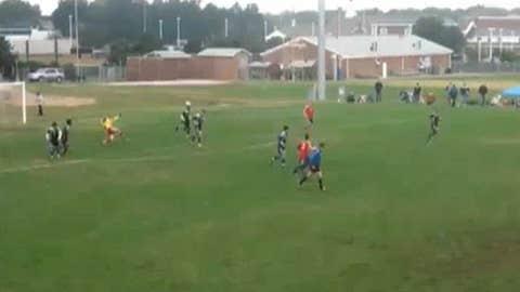 Wayward goalie
