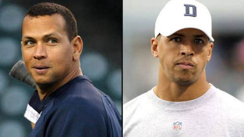 Alex Rodriguez and Miles Austin
