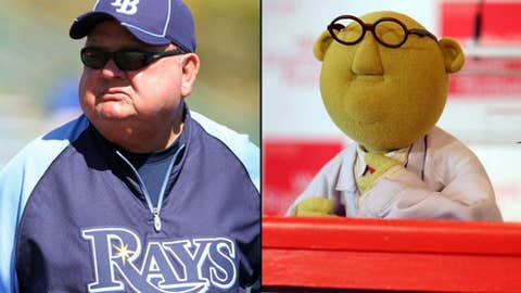 Don Zimmer and Dr. Bunsen Honeydew