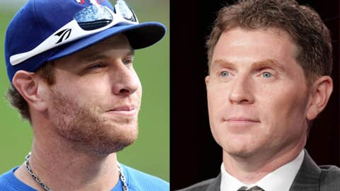 Josh Hamilton and Bobby Flay