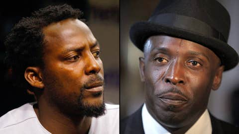 Vladimir Guerrero and Michael K. Williams