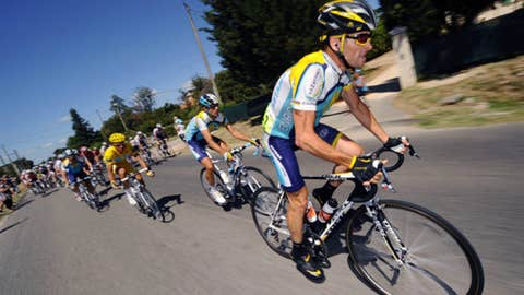 Lance Armstrong in 2008
