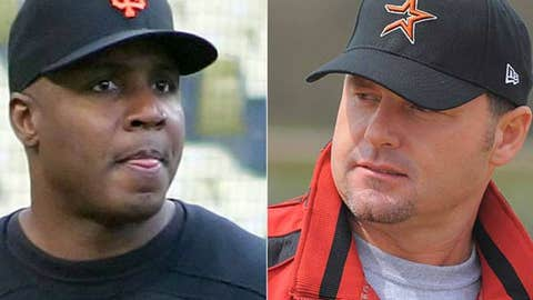 Barry Bonds and Roger Clemens