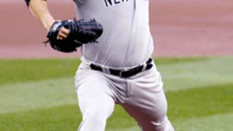 Andy Pettitte in 2012