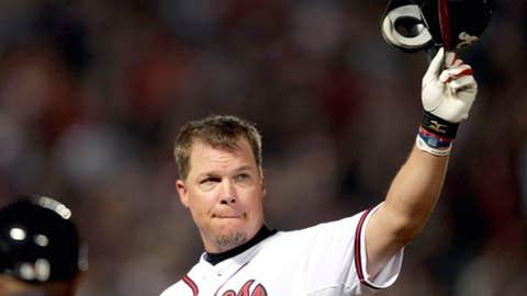 Chipper Jones: Atlanta Braves (1993, 1995–2012)