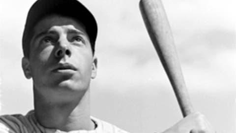 """Joe DiMaggio — """"The Yankee Clipper"""" or """"Joltin' Joe"""""""