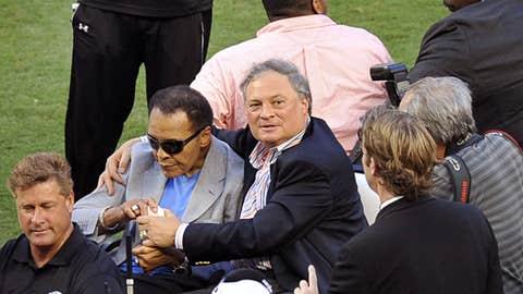 Even Ali's in attendance