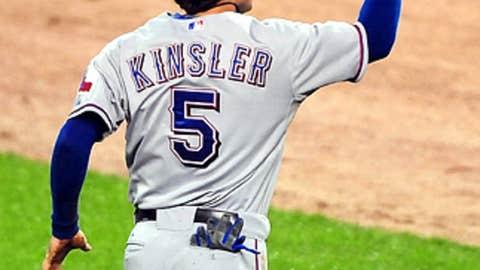Ian Kinsler, Texas Rangers